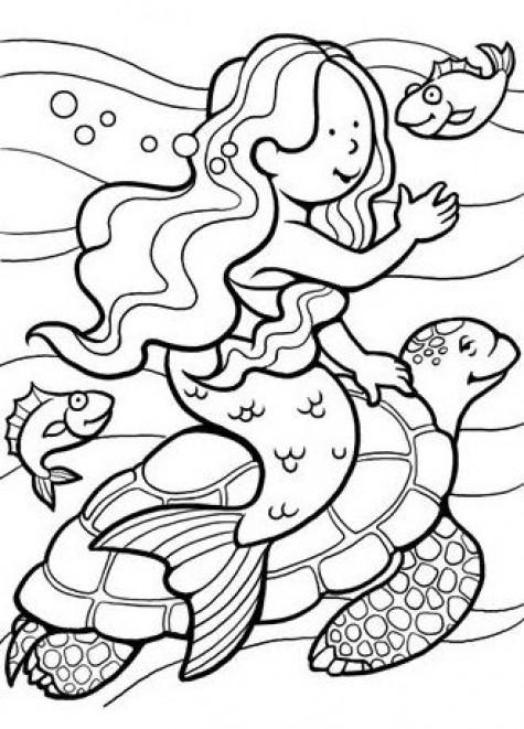 #72 DIY Mermaid Ideas : Mermaid Costumes Coloring pages ...