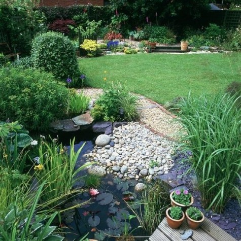 DIY Water Garden Ideas: #54 Pond Garden Ideas and Design Inspiration ...