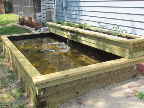 diy water garden ideas 54 pond garden ideas and design. Black Bedroom Furniture Sets. Home Design Ideas