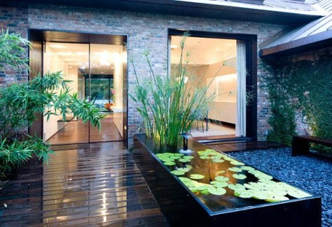 #60 DIY Water Garden Ideas: Container and Pond Water Garden on Raised Garden Ponds Ideas id=74004