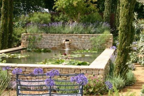 DIY Water Garden Ideas: #54 Pond Garden Ideas and Design ... on Raised Garden Ponds Ideas id=89967