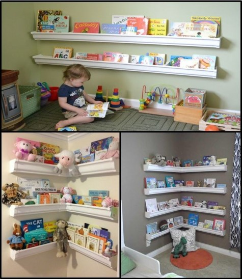 37 diy bookshelf ideas unique and creative ideas for Shelving for kids room