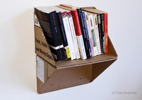 of cardboard id elements picture large bookshelf