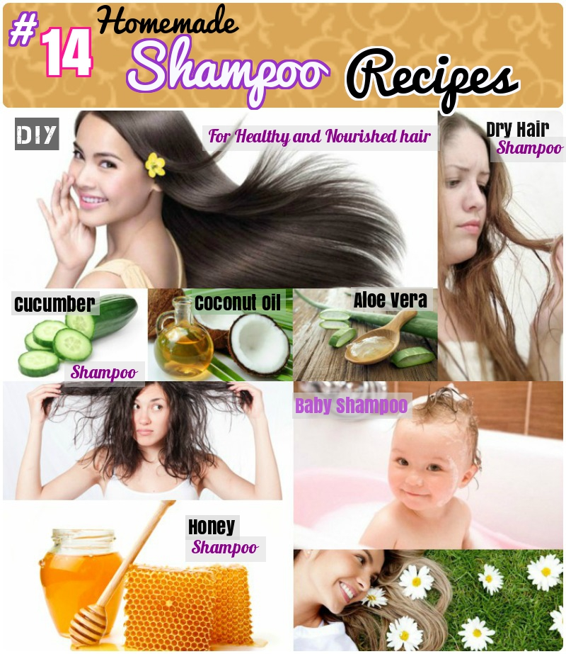 DIY Homemade Shampoo Recipes