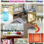 Homemade Window Cleaner #40 DIY Window Storage Seats and Treatments