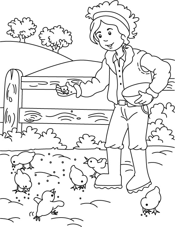 DIY Farm Crafts and Activities with #33 Farm Coloring ...