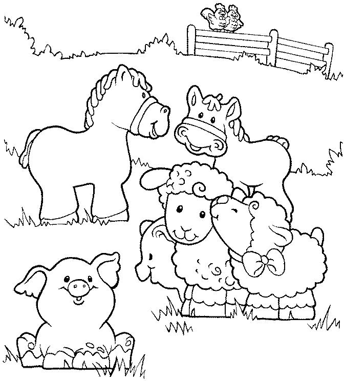 Diy Farm Crafts And Activities With 33 Coloring Pages Page 2 Of Craft Ideas Horse Cow Template