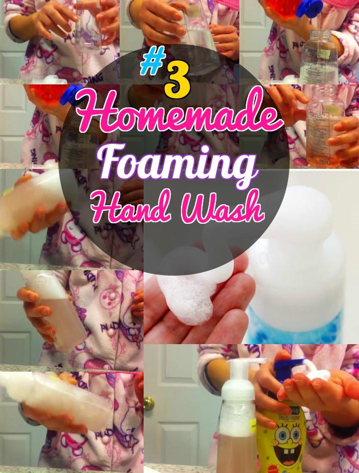 How to make Homemade Foaming Handwash