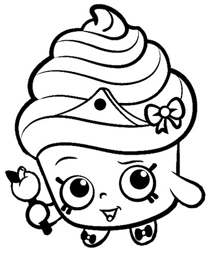 Shopkins Coloring Pages 2