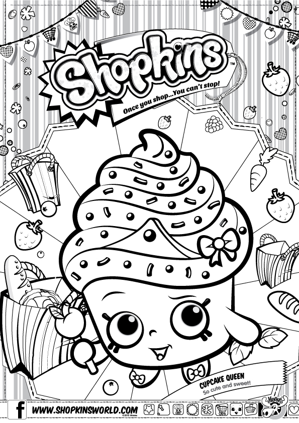 Shopkins coloring pages 3