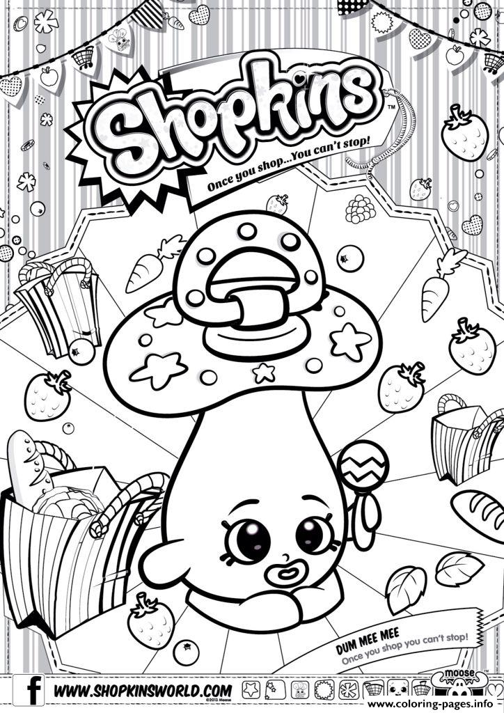 Shopkins coloring pages 5 Diy
