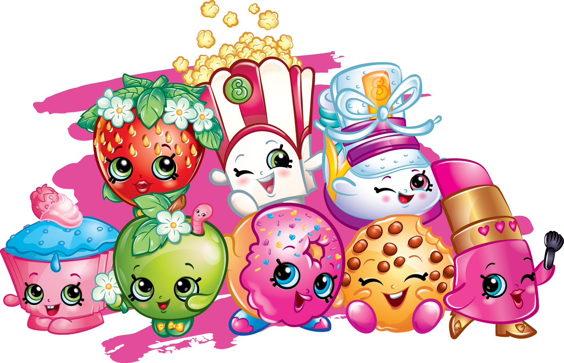 20 shopkins party craft ideas and shopkins coloring pages - Shopkins pics ...