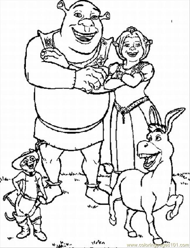 Shrek Coloring Pages Coloring Coloring Pages