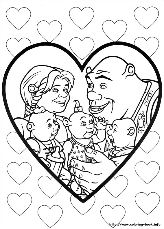 shrek babies coloring pages - photo#14