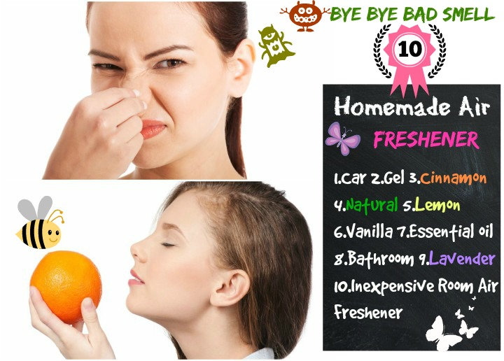 10 DIY Homemade Air Freshener : Now our