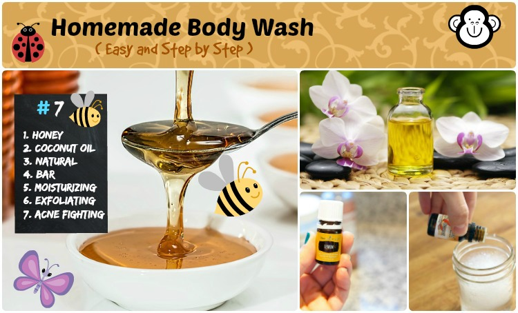 DIY Homemade body wash