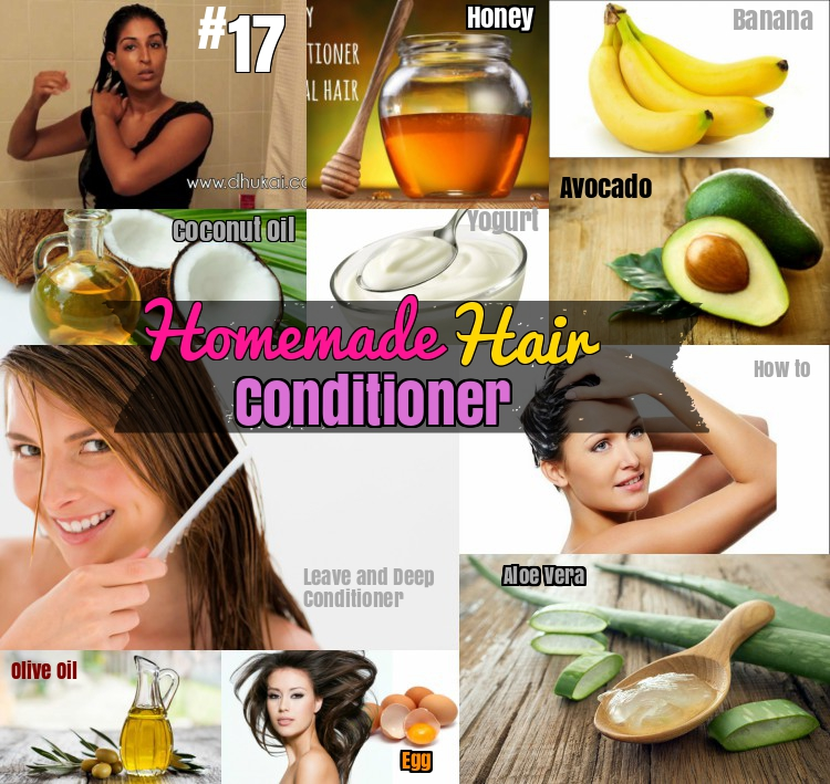 Homemade Hair conditioner How to make
