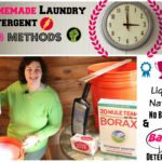 DIY #4 Homemade Laundry Detergents: 4 Methods