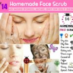 DIY #14 Homemade Face Scrub Recipes For Soft & Glowing Skin