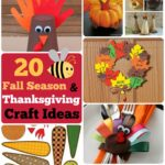 #20 DIY Thanksgiving Craft Ideas: Fall Season Crafts for Kids