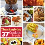 #37 DIY Thanksgiving Cookies, Treats, Ornaments and Thanksgiving Pumpkin Ideas