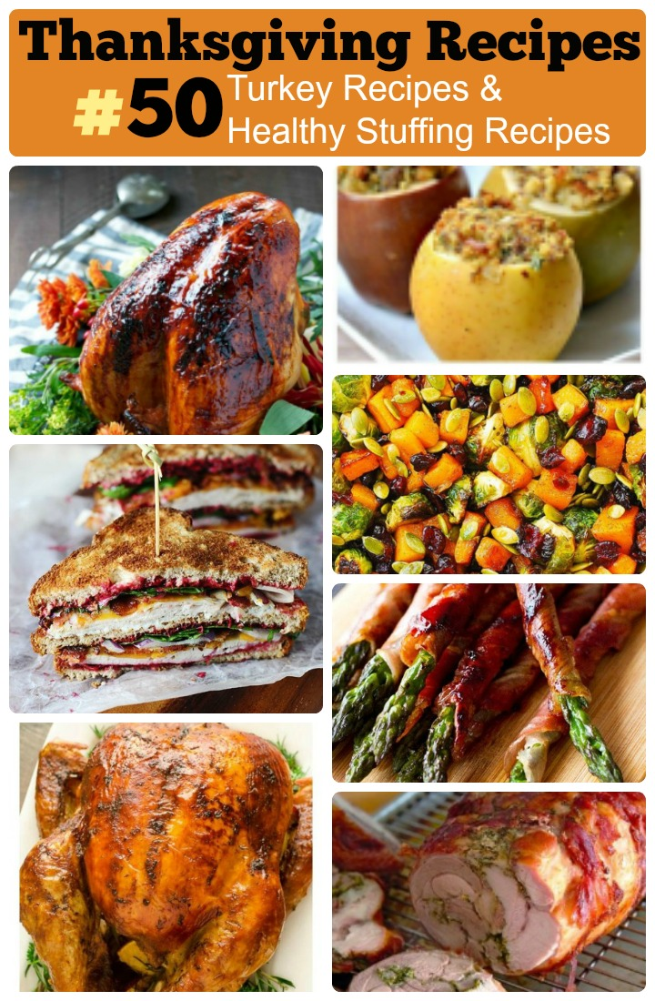 Thanksgiving recipes turkey and healthy stuffing recipes