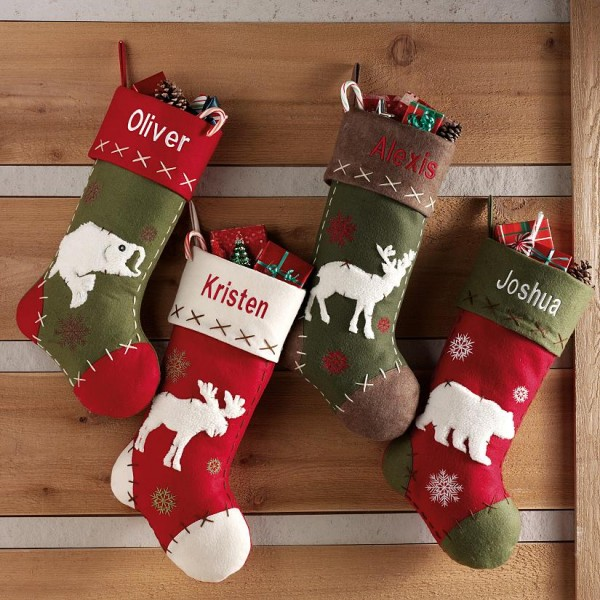 37 Diy Christmas Stockings Pillows Free Sewing Patterns