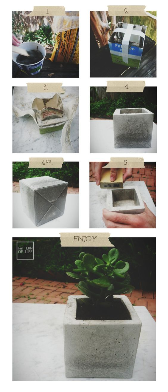 diy-modern-and-concrete-planters-1