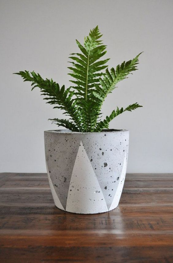 diy-modern-and-concrete-planters-7
