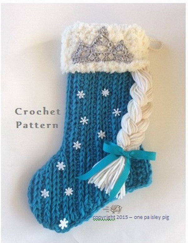 DIY Pattern for Christmas stockings
