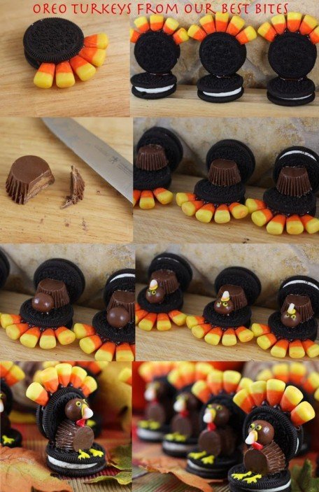DIY Thanksgiving cookies