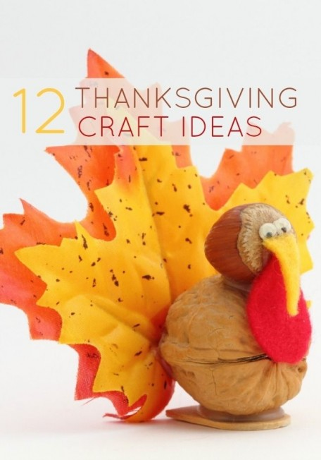 DIY Thanksgiving craft ideas