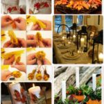 DIY Thanksgiving Decor: Cheap Dollar Store Decors & Table setting