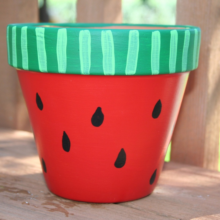 19 diy painted pots how to paint pots for a adorable garden