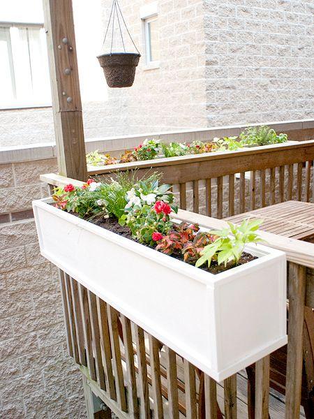 Perfect DIY Flower Planters On Railings Nice Look