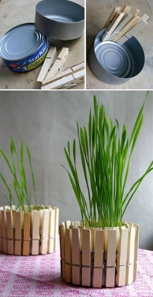 22 diy recycled planter boxes step by step ideas for Creative products from waste materials