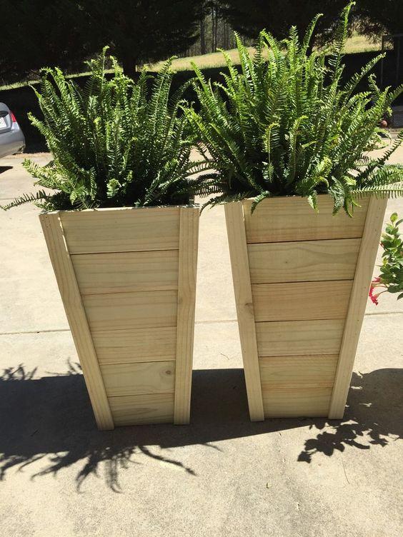 70 Diy Planter Box Ideas Modern Concrete Hanging Pot