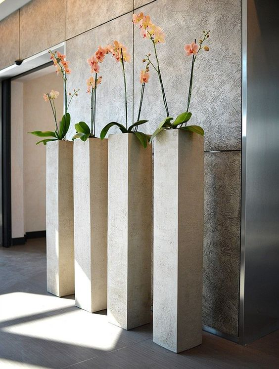 70 DIY Planter Box Ideas Modern Concrete Hanging Pot Wall Planter