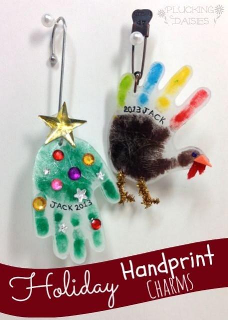 DIY thanksgiving ornaments