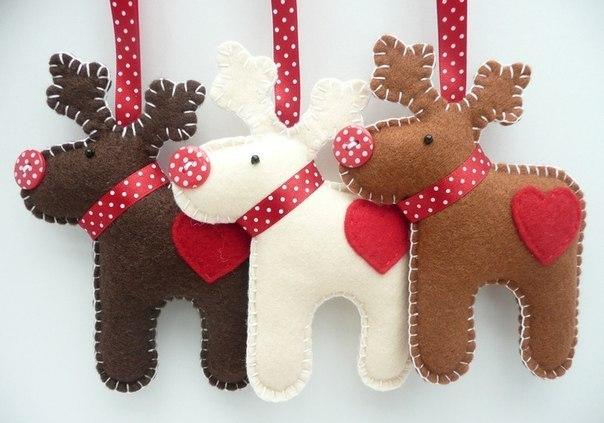 35 Diy Christmas Ornament Ideas Homemade Felt Wood Paper Ornaments