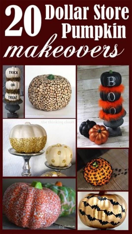 Diy Thanksgiving Decor Crafts 58 Dollar Store Decors