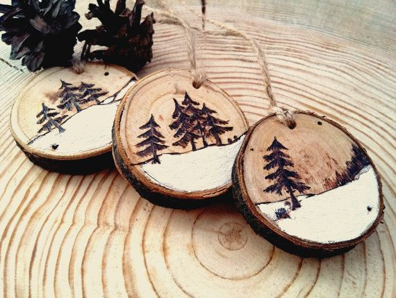 Christmas Wooden Ornament Designs