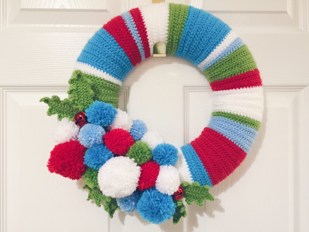 Xmas Rag Wreath
