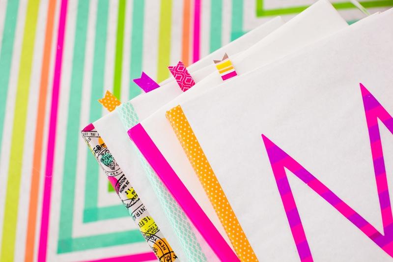 Washi Tape Book Cover Ideas ~ Diy washi tape craft ideas organizer and arts