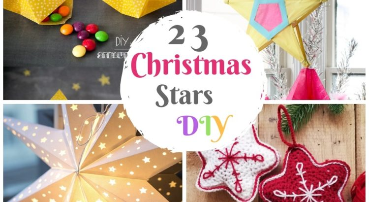 23 diy christmas stars paper craft ideas and crochet free patterns