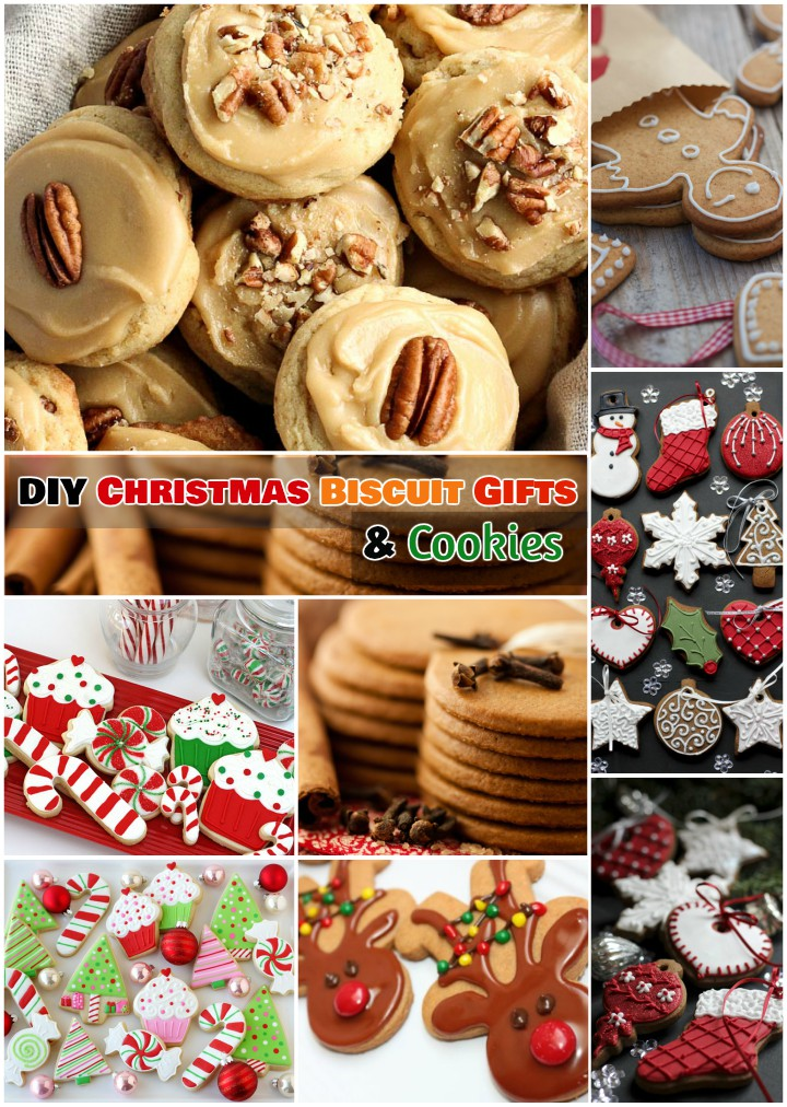 DIY Christmas Biscuit and Choco Cookies Gifts