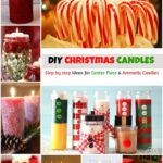 Spread The Holy Light: #14 DIY Christmas Candles & Decor Holders