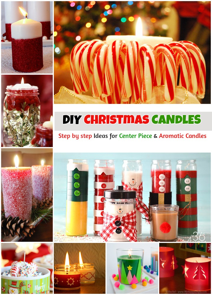 DIY Christmas Candles for Step by Step Aromatic Holiday Candles