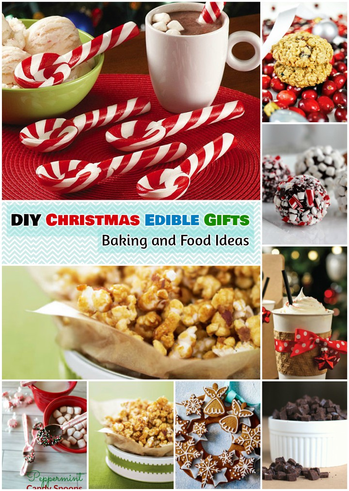 Christmas Edible Gifts Foods