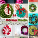 Warm Welcoming Christmas Wreaths : #29 DIY Wreaths and Inspiration Ideas
